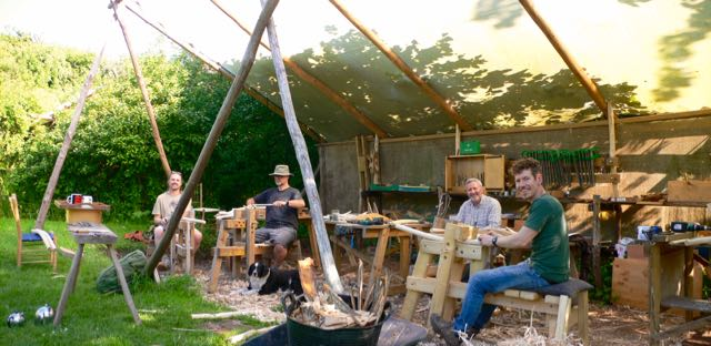 The Greenwood Cottage workshop 2017