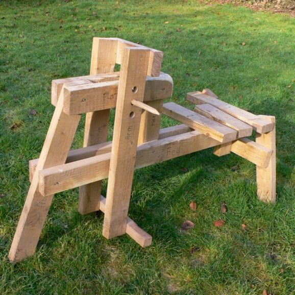 lumber horse