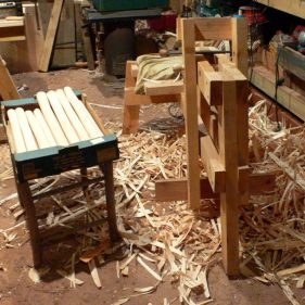 12 front legs and a load more kindling