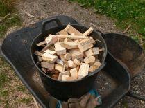 Ready to burn in my winter workshop